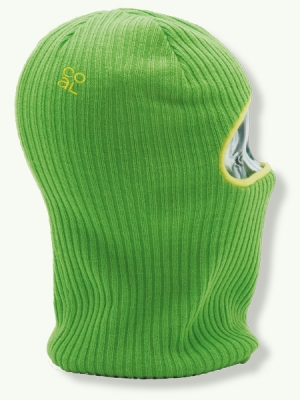 The Knit Clava, lime green