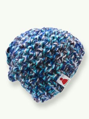 Fluffy - brown/blue/white
