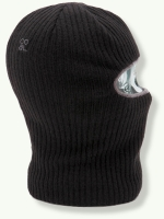 The Knit Clava, black