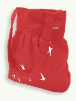 Shopping Bag, Merris, red