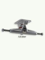 Iron Trucks 5.0 silver