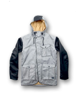 CLWR Mattsson Jacket, Grey Melange