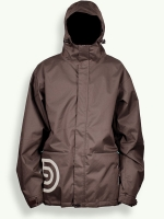 Night Rider jacket, chocolate