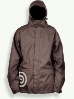 Night Rider jacket, chocolate