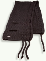 The Muji Scarf, black