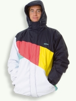 Tack jacket, white/anthracite/nectar/yellow/mint