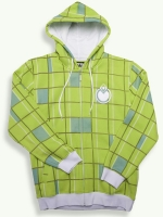 OG Dot Zip Hoody, lime punch