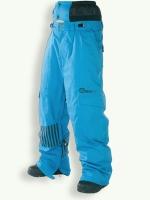 Agile pant, turquoise